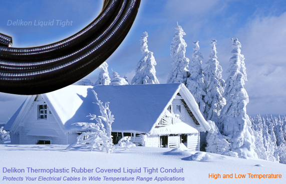 Thermoplastic Rubber Covered Steel Liquid Tight Conduit   ( YF-906 )