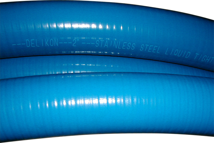 Stainless Steel Blue Liquid Tight Conduit
