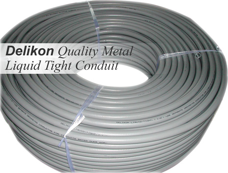 Delikon Quality Metal Liquid Tight Conduit