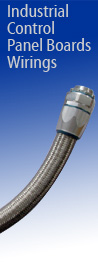 Over Braided Flexible Conduit,Conduit Fittings for industry control panel board wiring
