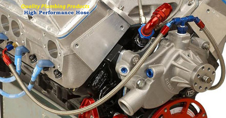 High performance hose for racing car engines