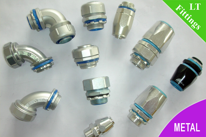 Metallic Liquid Tight Connector For Liquid Tight Conduit
