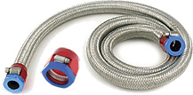 Stainless Steel Braided Nitrile Rubber Hose is for use with Magna-Clamp Fittings