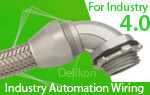 Delikon, Leaders in the manufacture of EMI Shielding Heavy Series Over Braided Flexible Conduit and Fittings, provides cable protection solutions for Multi Tasking machine, 5 axis machining center, turning center, vertical machining center VMC,horizontal machining center HMC and automation.